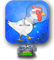 Space Chickens vs Angry Zombies